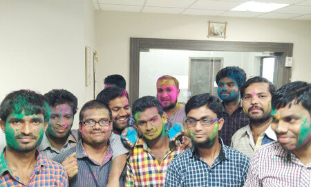 Festival of Colours at Revalsys