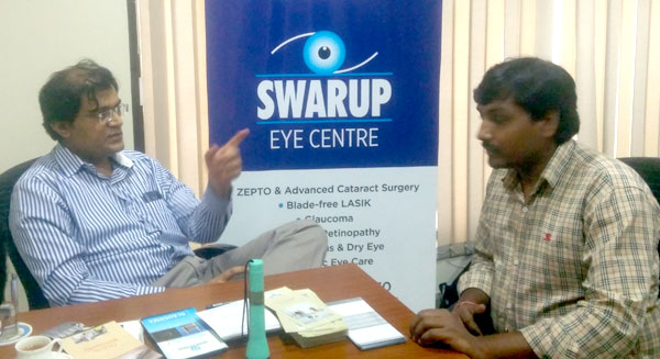 Eye Check-up held by Swarup Eye Centre at Revalsys